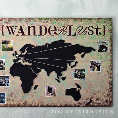 Wanderlust Map
