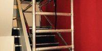 Ridgeway Stairwell Scaffold