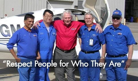 'Respect People for Who They Are, Not for What Their Titles are' -- Herb Kelleher, Southwest Airlines