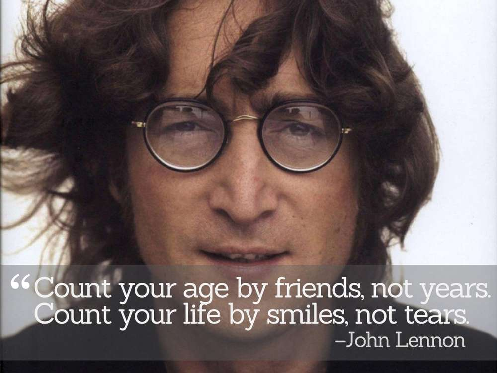 Inspirational Quotations by John Lennon