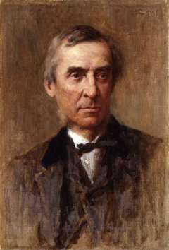 James Anthony Froude - Painting by George Reid