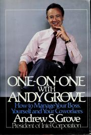 'One-on-One With Andy Grove' by Andy Grove (ISBN 0140109358)