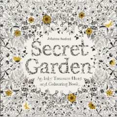 'Secret Garden' by Johanna Basford (ISBN 1780671067)