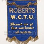 Roberts W.C.T.U. Banner
