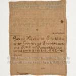 Betsy Harris 1800-1805