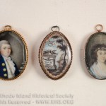 John Wood and Rebeca Wickham Crooke Wedding Locket, ca. 1790