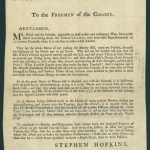 [Providence, R.I.: Printed by William Goddard, 1763]