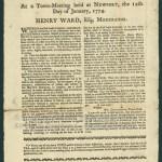 [Newport, R.I.]: Printed by Solomon Southwick, [1774]