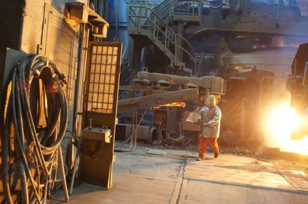 Unterwegs im Stahlwerk oder auf Besuch in der Hölle_Stahlwerk_3