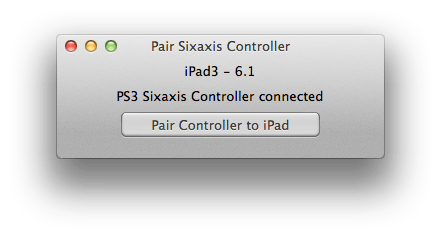dualshock 1 How To Connect Your PS3 Controller To Your iPad or iPhone | Cydia