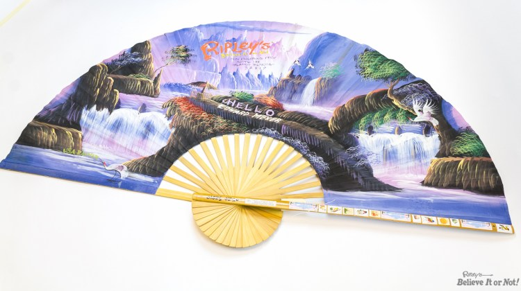 THIRD PLACE > Week 9: Giant Hand Painted Fan