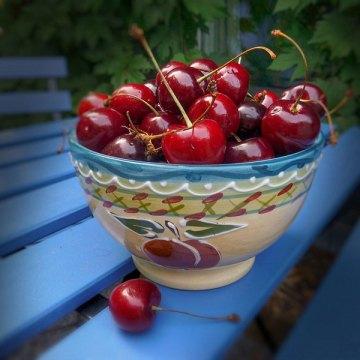 Cherry Pit-Spitting