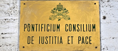 Plaque-of-the-Pontifical-Council-for-Justice-and-Peace