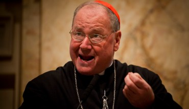 Cardinal Dolan Crosses Brooklyn Bridge With Fellow Worshipers