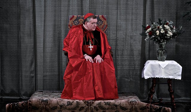 Cardinal Burke at Saint Francies de Sales for Solemn Te Deum and Benediction