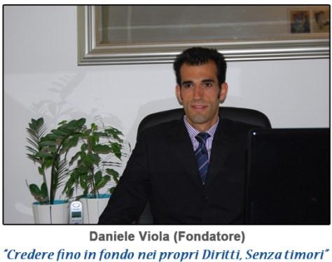 Daniele Viola fondatore di Risarcimento Salute e della 1' app sulla malasanità.