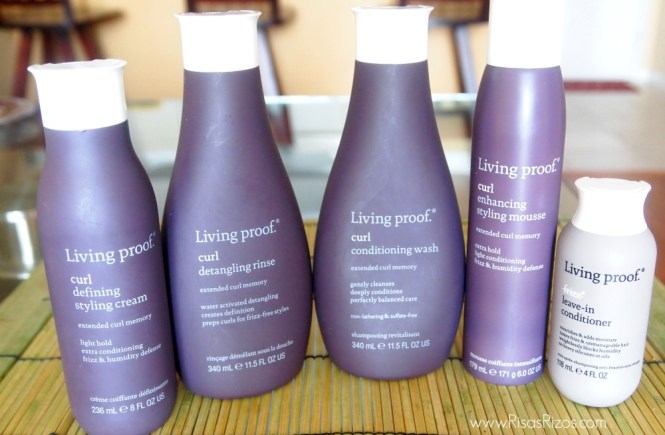 Living Proof Curl Line does great at fight frizz with their humidity defense quality.