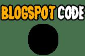 blogspot code