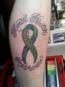 Mental Health Awareness Tattoo