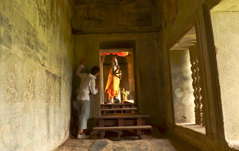 Angkor Wat Buddha Peak