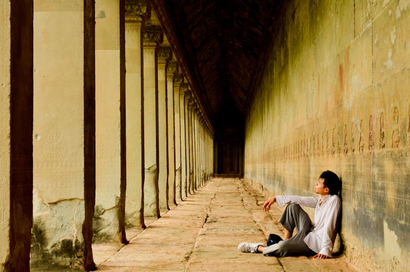 Angkor Wat Sitting