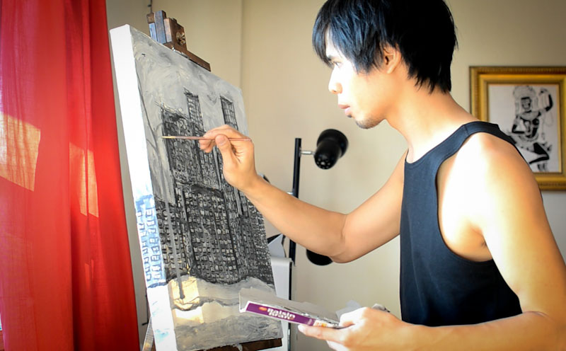 Painting NYC Torii