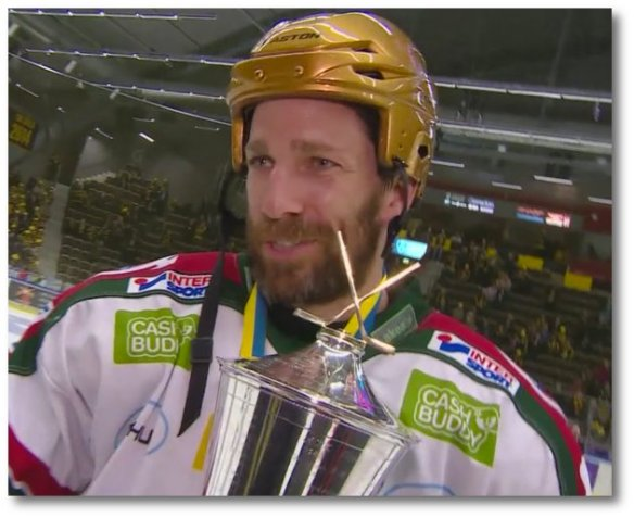Joel Lundqvist, team captain on CMore.