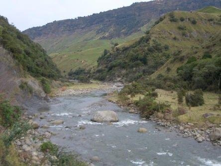 Ruakituri River above the gorge