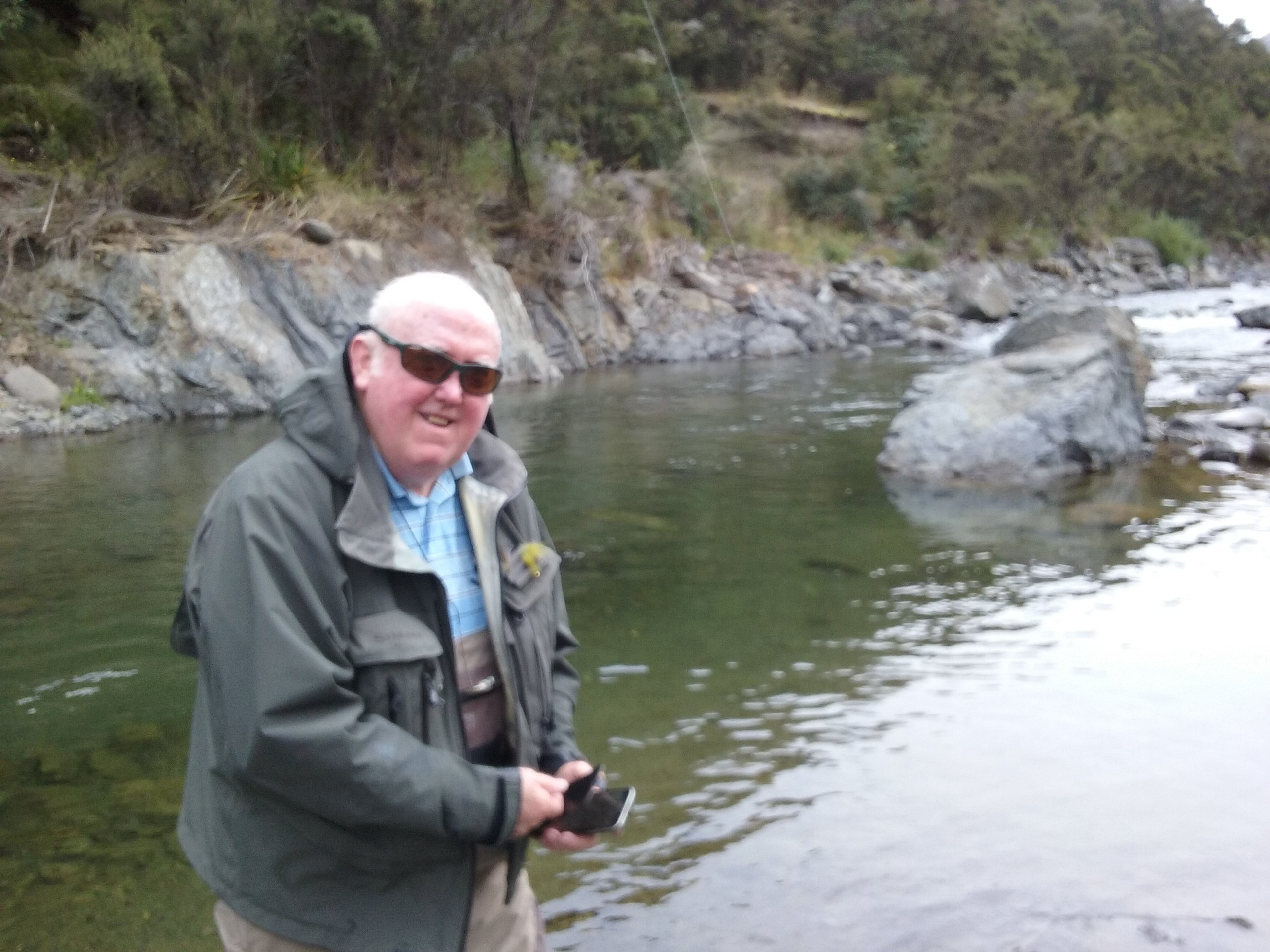 Gerry hartigan backcountry fishing hawkes bay for Backcountry fly fishing