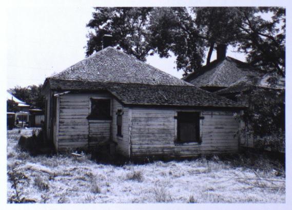 163 Ash Street, back elevation (1981)