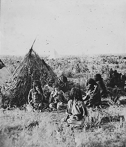 Bannock People in southern Idaho (1872)