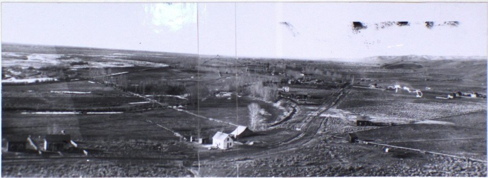 View of Boise from Table Rock (1899)