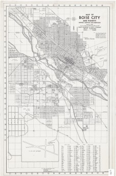 Urban infill is increasing south of the Boise River by the 1940s