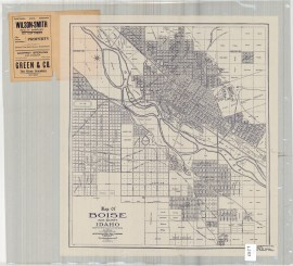 The dynamic Boise River would soon be tamed by 1909