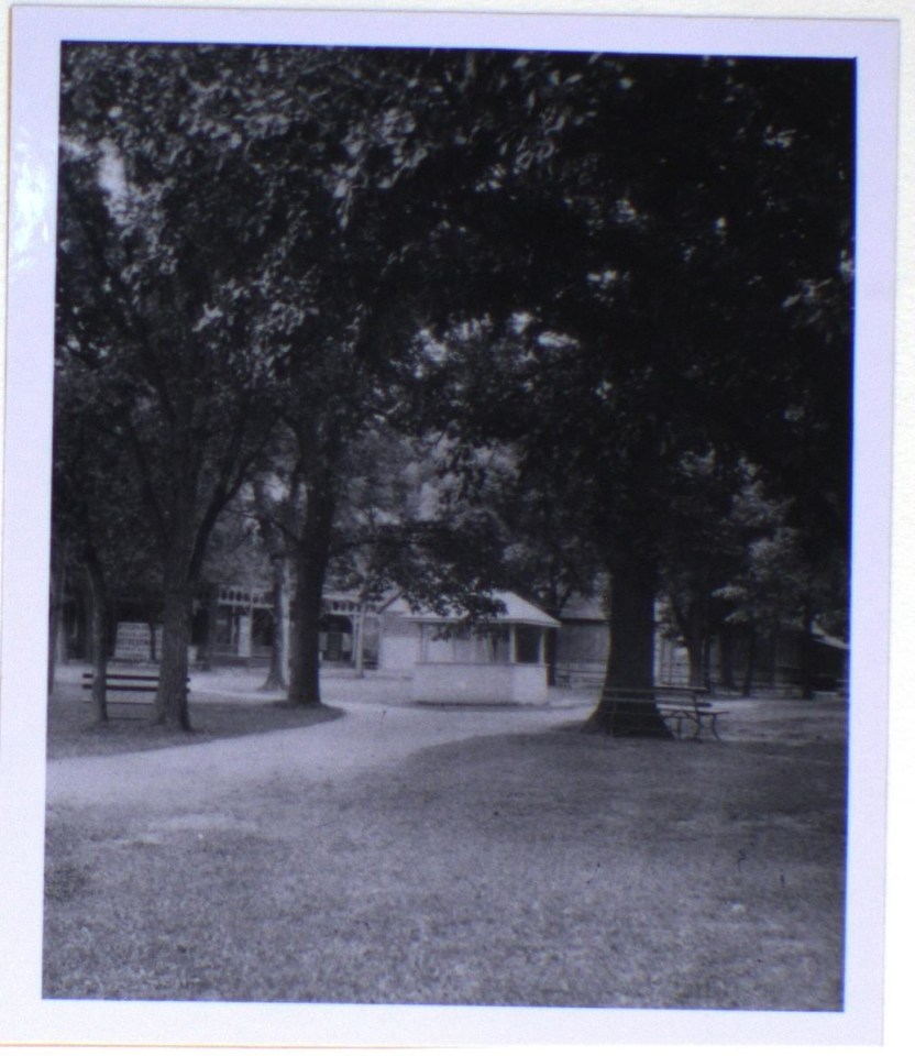 A view of the bandshell at Riverside Park (n.d.)