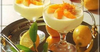 كريمة البرتقال بالليمون