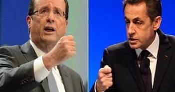 ساركوزي و هو لاند