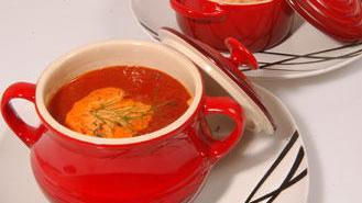 حساء طماطم