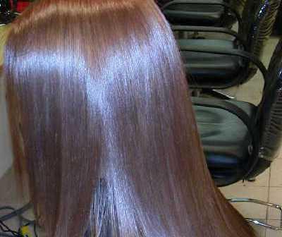 وصفة تلميع الشعر