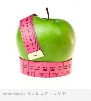 اخسر 5 كيلو مع التفاح و افقد مقاسات الخصر