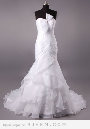 فساتين زفاف لعروس 2014