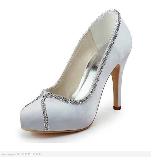 احذية زفاف كعب عالي 2014