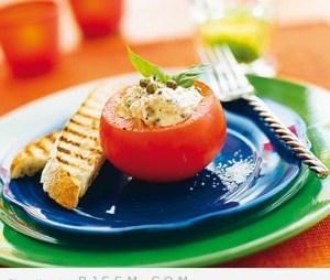 طماطم محشوة بالتونه
