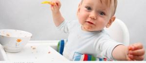 طفلك يرمي طعامه على الارض اليك الحل