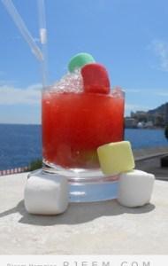كوكتيل  البحر المتوسط  بالوان الصيف