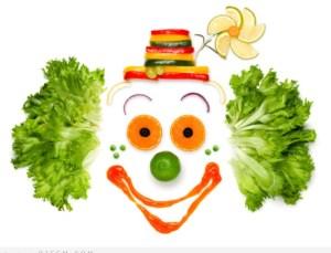 A portrait of joyful clown madالرجيم المتوازن و خساره 20 كيلو او اكثر في 3 اشهر