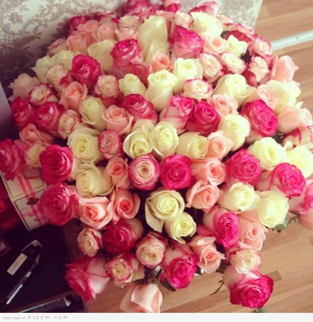 باقات زهور لعروس 2014 روعه