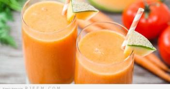 عصير الشمام بالعسل صحي وسريع