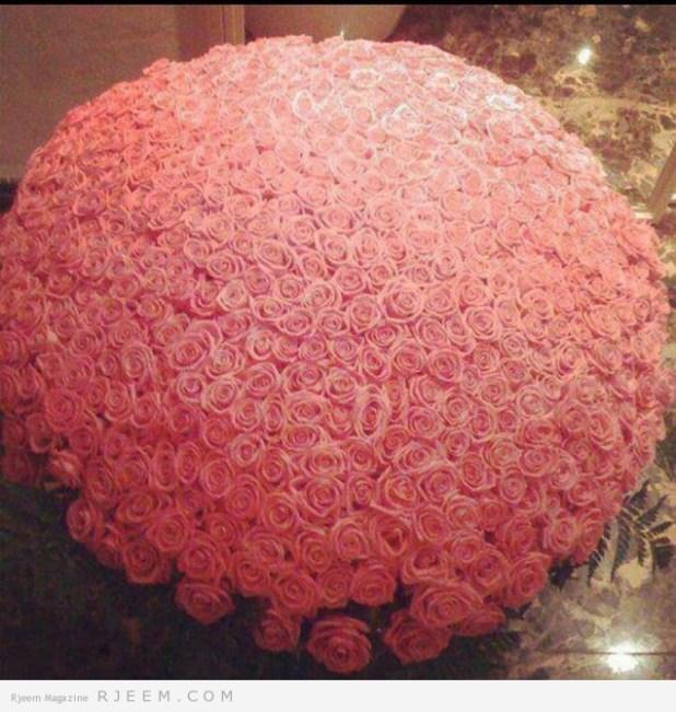 زهور للعروس روعه 2014