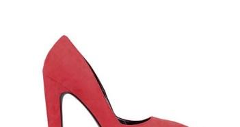 احذية خطوبة حمراء 2015
